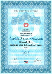 Cena kvality 2013